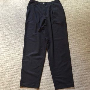 Liz Claiborne black dress pants. Women's size 14.